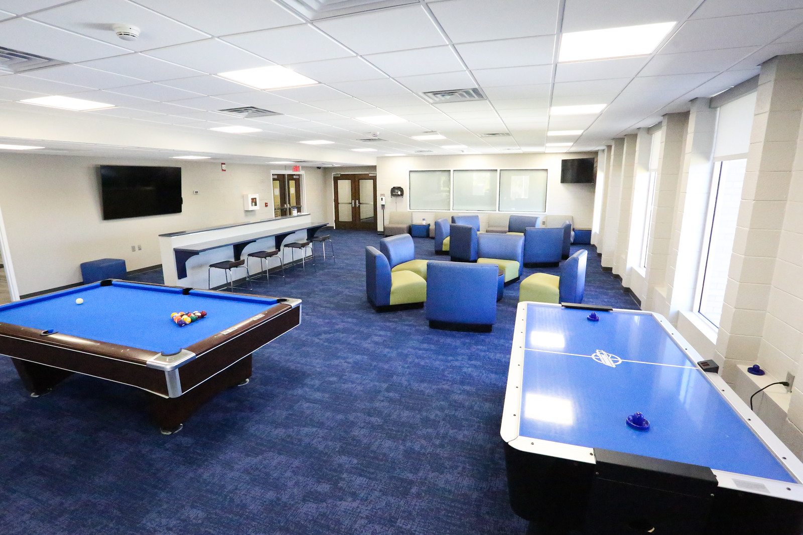 Full View of The X Student Lounge